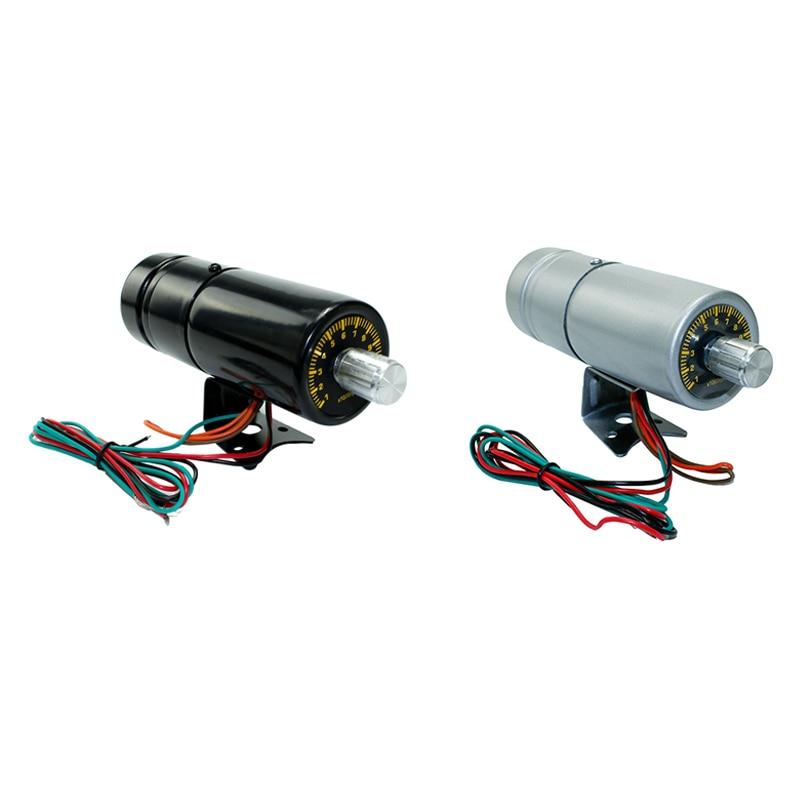 Universal DepoTuning Led Adjustable Tachometer Gauge Warning Shift Light LED Lamp Car Meter 1000-11000 RPM