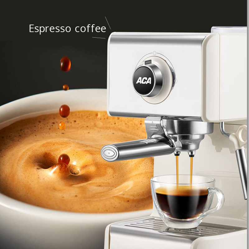 Итальянская Кофеварка полуавтоматическая 20 бар насос давления эспрессо кофе бытовой паровой вспениватель молока производственные инстру...