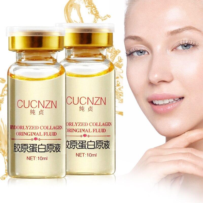 Hyaluronic Acid Argireline Collagen Peptides Whitening Cream Moisturizing Anti aging Wrinkle Essence Scar Remove Serum Face Care-in Serum from Beauty & Health