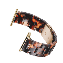 Resin watchband strap For Apple watches , VIOTOO Watch Accessories Stainless Steel Bracelet bands Iwatch 4 44mm