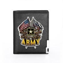 Классический Модный военный кошелек в стиле американской армии