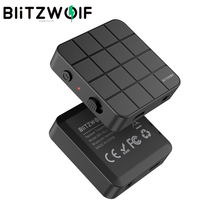 BlitzWolf BW-BL2 Wireless bluetooth5.0 Receiver Transmitter 2 in 1 Mini Portable 3.5mm Aux bluetooth Adapter for PC TV Headphone
