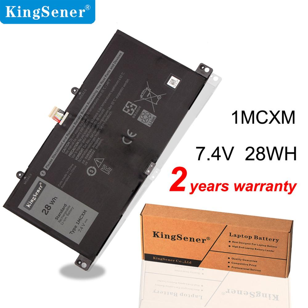 KingSener 1MCXM Keyboard Battery For DELL Latitude 5175 1MCXM G3JJT Series Tablet PC Battery 7.4V 28WH Free 2 Years Warranty