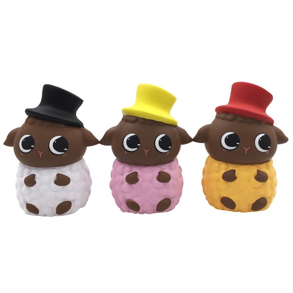 Big Sheep Slow Rebound Decompression Toy Kawaii Funny Toys Cute Sheep Slow Rising Squeeze Toy Collection Cure Gift L108