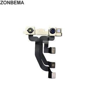 Image 3 - ZONBEMA 10 قطعة/الوحدة 100% اختبار العمل الجبهة كاميرا فيس تايم مع القرب الاستشعار فليكس كابل ل آيفون X XR XS ماكس 7 8 زائد
