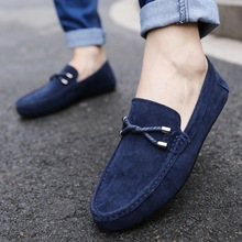 Spring Summer NEW Men's Loafers Comfortable Flat Casual Shoe