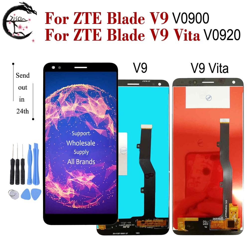 LCD For ZTE Blade V9 V0900 LCD Display V9 Vita V0920 LCD Screen Touch Digitizer Assembly Replacement V9 Display V9vita Screen