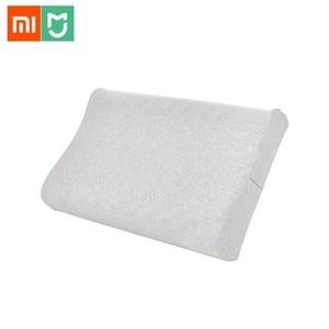 Image 1 - Original Xiaomi mi jia almohada protectora de látex Natural para el cuello almohada de látex para el cuidado de los niños y adultos almohada de cuello para uso en el hogar