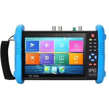 7 Inch IPS Touch-Screen H.265 4K IPC-9800ADHS Plus IP Camera Tester CCTV CVBS Analog Tester Built in WiFi HD-TVI/HD-CVI/AHD/SDI/