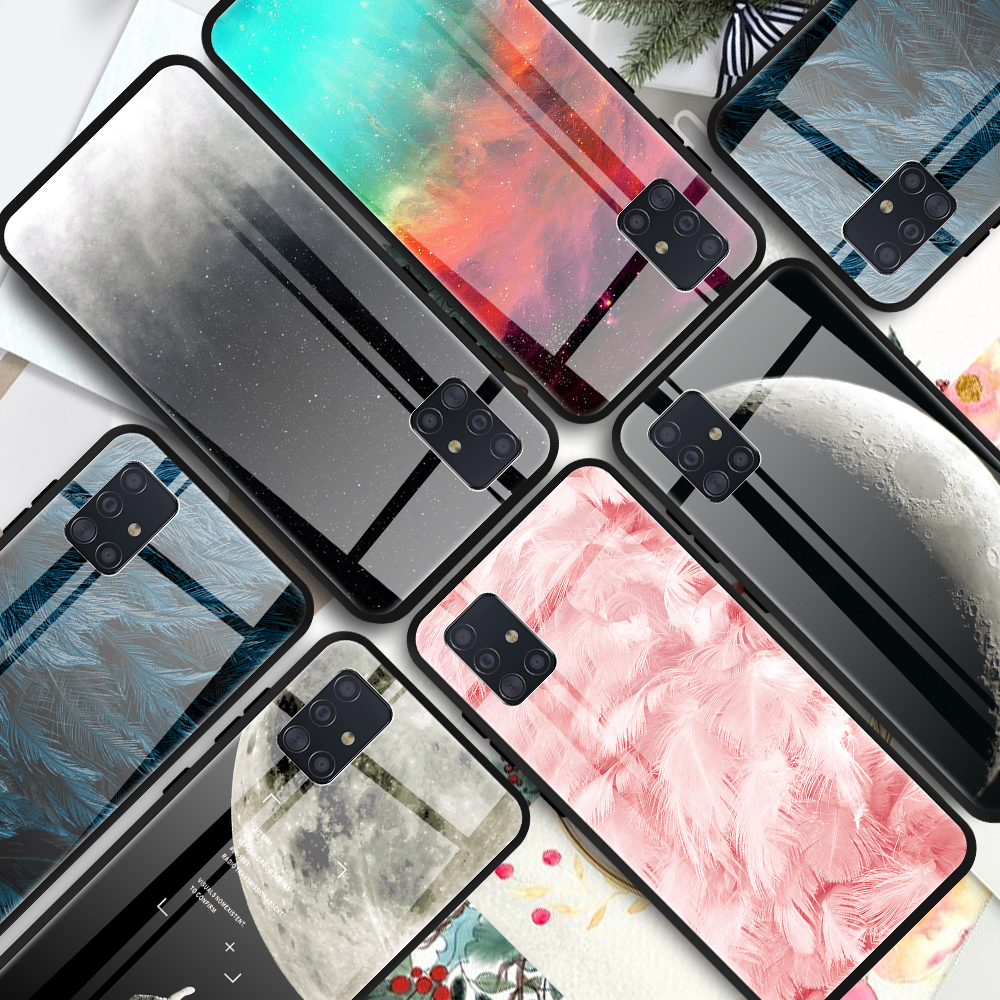 All inclusive <font><b>Case</b></font> For <font><b>Samsung</b></font> Galaxy A51 A71 A10 A20 A30 <font><b>A40</b></font> A50 S S20 Plus Tempered Glass <font><b>Case</b></font> For <font><b>Samsung</b></font> S20 Ultra a51 a71 image