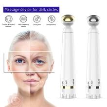 Mini Portable Electric Eye Massage Pen Device Dark Circle Facials Vibration Thin Face Magic Stick Anti-Ageing  Wrinkle Massage