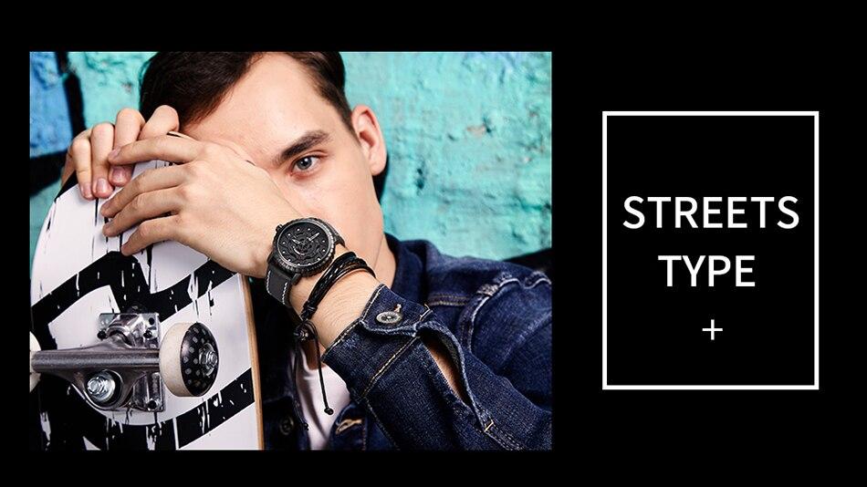 homens pneus criativos dial design homem relógio