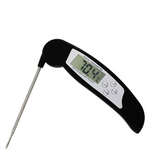 Household Thermometers Folding Dust Probe Disassembled BBQ Meat Milk Kitchen Baking Food Water Thermometer