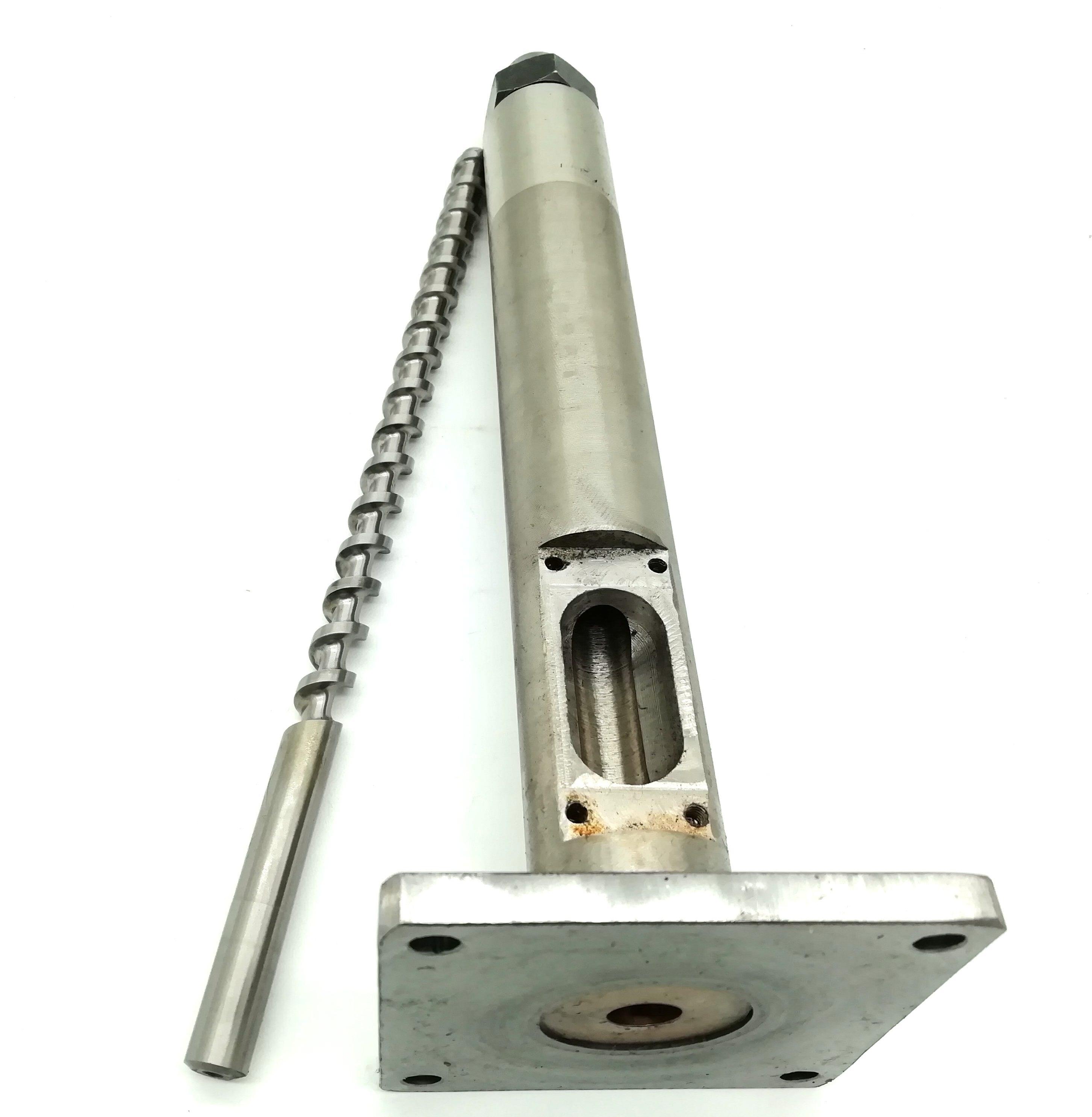 Jugetek 12 Filament Extruder Screw Barrel And Nozzle
