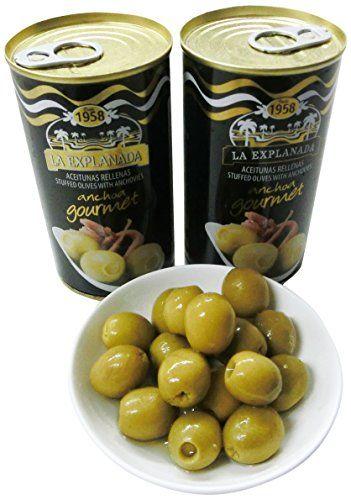 Olive Verdi Farcite Con Acciughe La Esplanada 150 G.