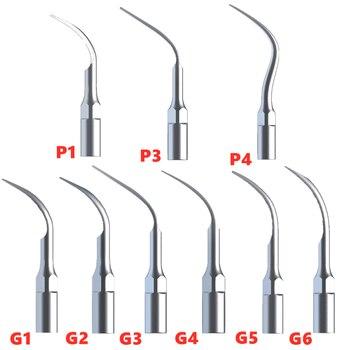 P1 P3 P4 Perio Scaling Tips G1 G2 G3 G4 G5 G6 Dental Scaler Tip For EMS Woodpecker Scaler Ultrasonic Handpiece Dental Equipment dental detachable tubing hose cable for led light ultrasonic scaler handpiece woodpecker ems