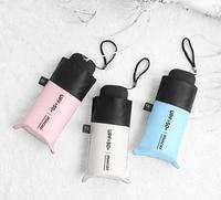 2021 Mini Women Pocket Small Umbrella Anti UV Paraguas ombrellone pioggia antivento luce pieghevole ombrelli portatili per ragazzo ragazza