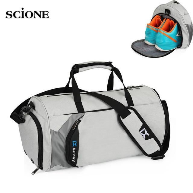 Men Gym Bags For Training Bag Tas Fitness Travel Sac De Sport Outdoor Sports Swim Women Dry Wet Gymtas Yoga Shoes Bag XA103WA 1