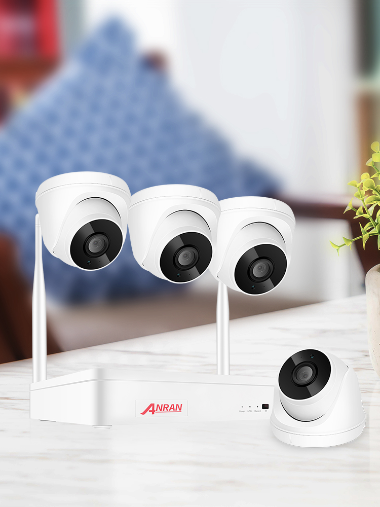 ANRAN Surveillance-Kit Camera-System Video-Security Outdoor Wireless Audio 1080P H.265