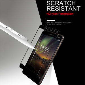 Image 5 - Screen Protector Tempered Glass For Nokia X6 X3 X5 X7 Nokia 5 6 7 8 1 2 3 Protective Glass For Nokia 7 Plus Film