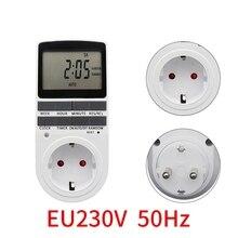 Electronic Digital Timer Switch Kitchen Timer Outlet 230V 110V 7 Day 12/24 Hour Programmable Timing Socket  EU AU UK Plug