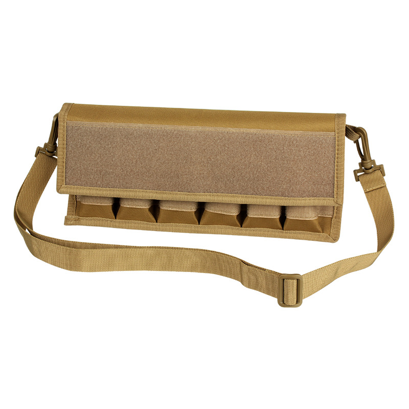Outdoor Tactical Cartridge Pouch Molle Cross-body 9mm Six Joint Cartridge Case. 40. 45 Magazine Storgage Bag 900d