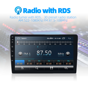 Image 4 - 2din Car Radio Android 8 Universal GPS Navigation Bluetooth 2.5D Touch Split Screen Wifi Car Audio Stereo FM USB Car Multimedia