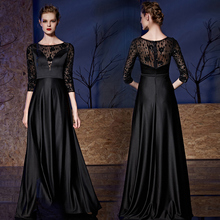 Evening-Dress Celebrity-Inspired-Gown Full-Dresses Woman Long Piano Host Fund Command