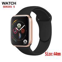 Reloj inteligente Bluetooth serie 4, 44mm, podómetro de ritmo cardíaco, funda 1:1 para teléfonos ios, apple, iPhone y Android y Samsung