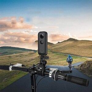 Image 5 - מגן מסגרת גבול קסדת אופנוע סוגר עבור Insta 360 אחד X מצלמה אביזרי הר מסגרת מחזיק לgopro ממשק