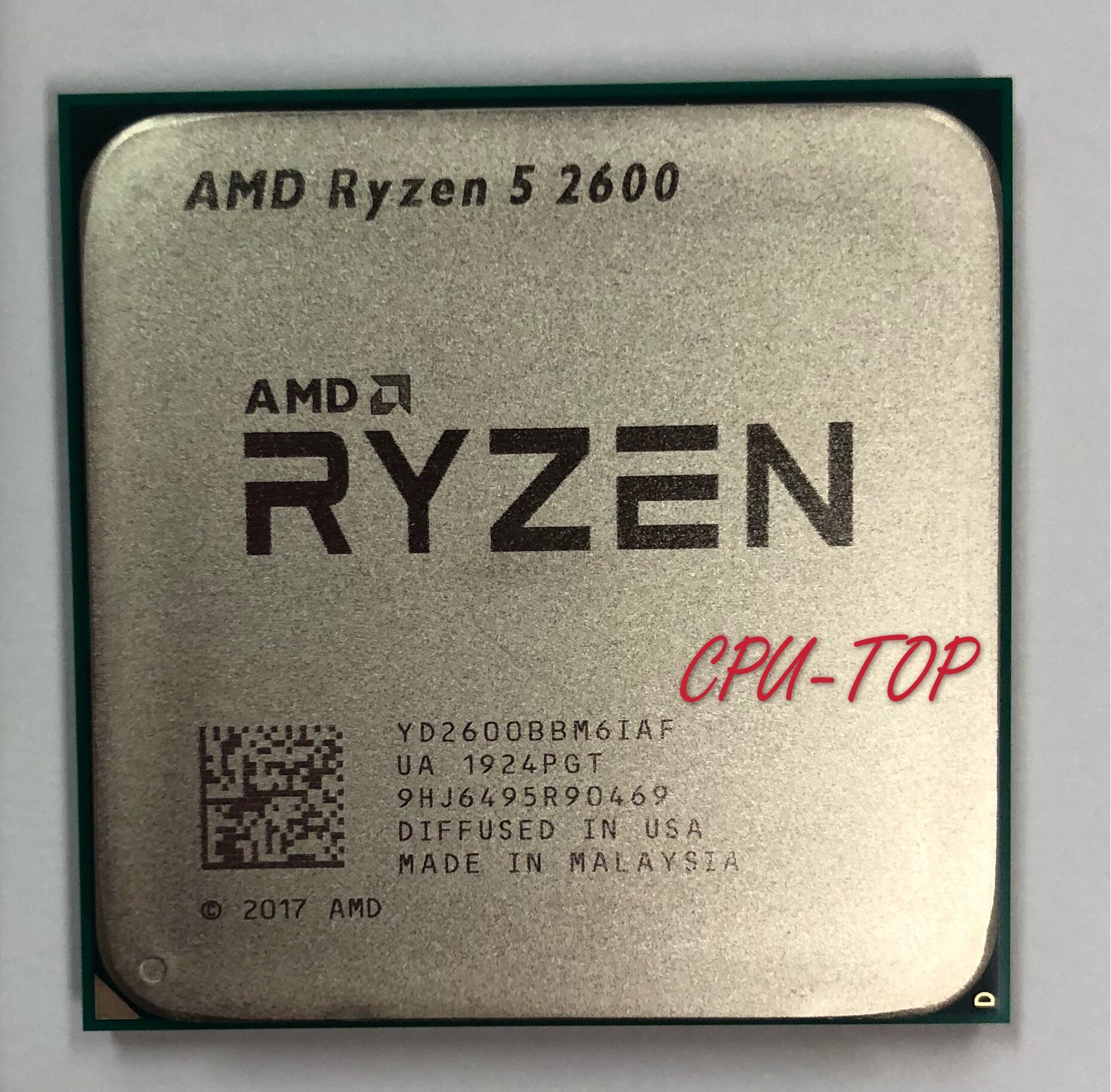 AMD Ryzen 5 2600 R5 2600 3.4 GHz Six Core Twelve Core 65W CPU Processor YD2600BBM6IAF Socket AM4|CPUs| - AliExpress