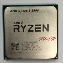 AMD Ryzen 5 2600 R5 2600 3.4 GHz Six-Core dodici Core 65W processore CPU YD2600BBM6IAF Socket AM4