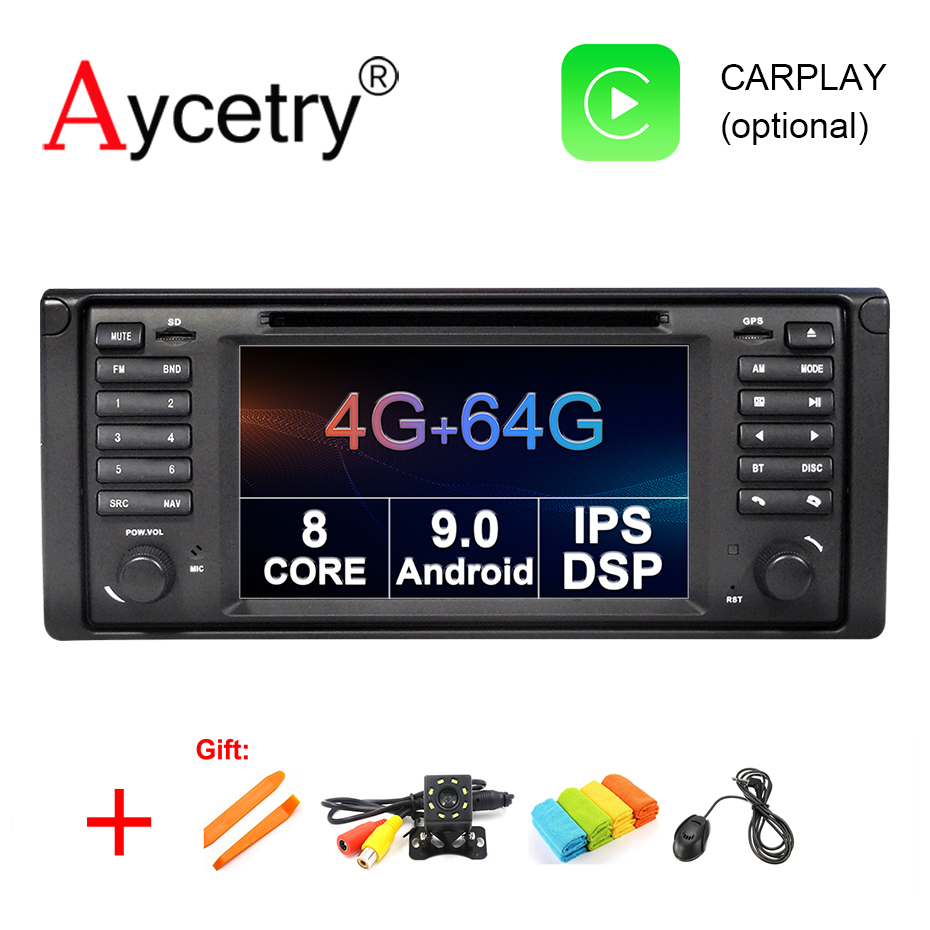 DSP IPS 4G 64G 8 Core Android 9 0 car dvd player gps navigation Auto Radio