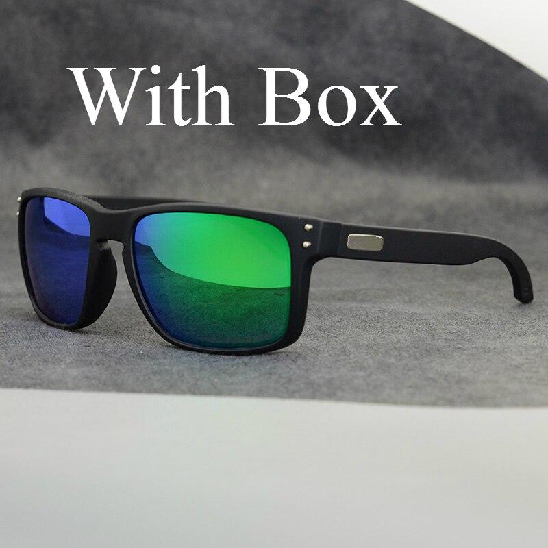 TR90 Classic Polarized Sunglasses for Men Women Sports Driving Outdoor Square Sun Glasses Brand Designer With Box
