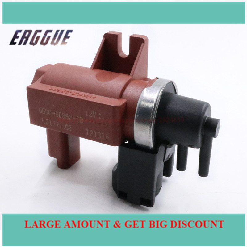 <font><b>TURBO</b></font> SOLENOID ELECTRO VALVE Pressure Conventer Solenoid Valve FOR <font><b>PEUGEOT</b></font> 307 <font><b>407</b></font> For CITROEN C4 C5 <font><b>2.0</b></font> <font><b>HDI</b></font> 161842 image
