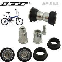 1 ensemble montagne vtt vélo vélo Pivot serrure boulon vis écrous unité Bushe pour Absorption des chocs Suspension cadre 28.8mm accessoires
