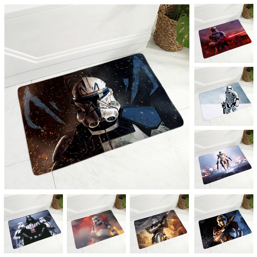 Imperial Soldier Pillow Case Star Wars Cushion Covers For Car Sofa Home Decor American Movies Super Soft Plush Pillowcase Cover