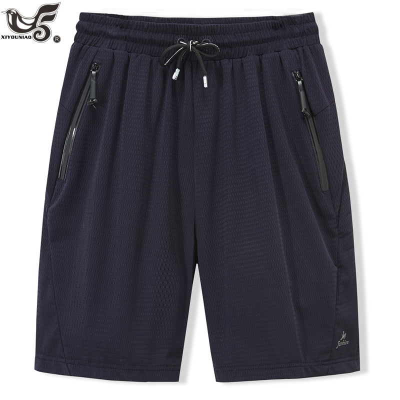 Big Size L~8XL Men`s Mesh Shorts Summer Casual Bermuda Beach Shorts Men Gyms Sporting Bodybuiding Joggering Short Pants Clothing