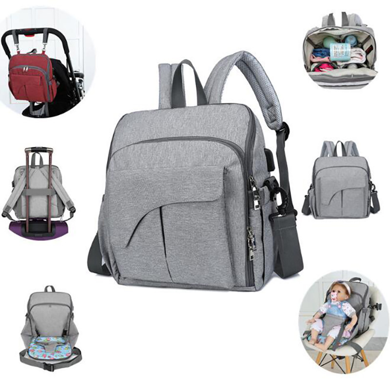 Maternity Bag  Backpack Travel Mummy Bag Nappy Bag Waterproof Food Multifunction Carrying For Baby Nursing Outdoor BRW002