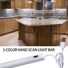 Closet-Light Motion-Sensor LED Kitchen Wardrobe Hand-Sweep Dimmable USB Bedroom 5V