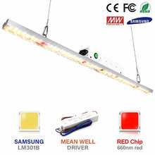 Cob led crescer espectro completo de luz samsung lm301b 100w 300 lumens planta crescer lâmpada para plantas de interior hidroponia estufa tenda