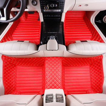 Custom Full Covered Special Car Floor Mats for MG 3 6 ZS GS GT 3SW Rugs Waterproof Durable Carpets