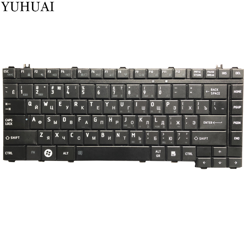 Image 2 - NEW Russian Keyboard for Toshiba Satellite A200 A205 A210 A215 A300 A305 A305D A350 A350D A355 M300 M200 M305 RU Black keyboard-in Replacement Keyboards from Computer & Office on