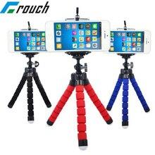 """Crouch держатель для телефона, штативы, штатив для мобильного телефона, держатель для камеры, гибкий держатель """"осьминог"""" для iPhone, Xiaomi, samsung, держатель с зажимом"""