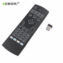 MX3 Smart Voice Remote Control Air Mouse Backlit MX3 2.4G RF Wireless Keyboard IR Learning For Android 9.0 TV BOX X96 H96 MAX