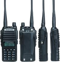 "baofeng uv Baofeng מכשיר הקשר UV-82 Ham Dual-Band 136-174 / 400-520 MHz FM 8 וואט סוללה 2800mAh שני Waterproof רדיו דרך, מקמ""ש (2)"