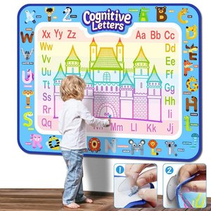 Water Drawing Mat Educational Game Girls Painting Toys Creative Kid Coloring Book Diy Draw Toy Board Doodle Set For Children