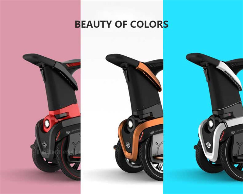 I-ROBOT-GO Electric Scooter Adults Two Wheel Self Balancing Scooters 48V 1200W Powerful Electric Scooter With SeatAPP  (8)