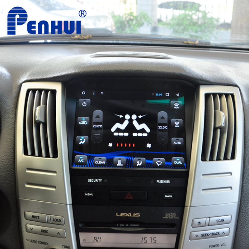 Android Car DVD GPS Navigation Player for Lexus RX330 /RX300/RX350/RX400H /Toyota Harrier (2004-2008)