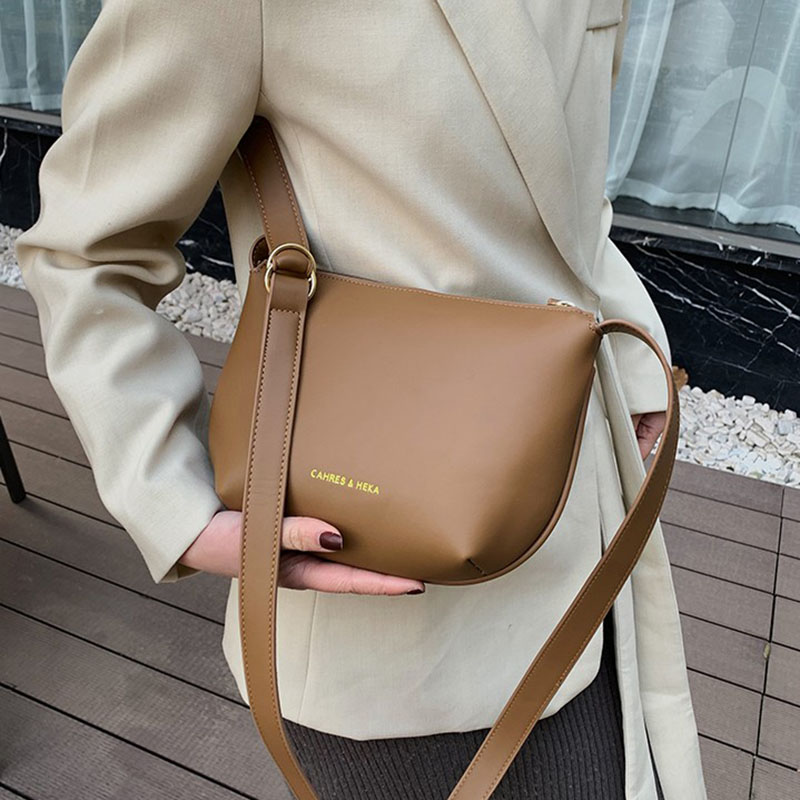 Female Small Messenger Bags Solid Color Crossbody Bags For Women 2020 Travel Leather Shoulder Bag Casual Bolso Mujer